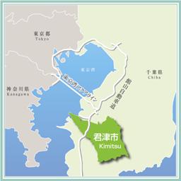 君津市位置